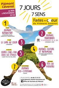 7 jours 7 sens Faîtes au coeur du Piémont Cévenol
