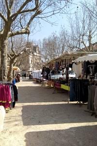Marché hebdomadaire de Saint-Ambroix