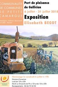 Exposition de peinture d'Elisabeth BEGOT