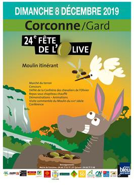 24ème Fête de l'olive à Corconne