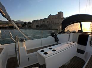 Dîner en voilier Mar-e-vents dans la baie - Activités Collioure