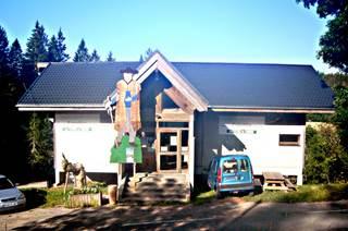 La Maison du Bois «  Georges Fabre » à  St Sauveur-Camprieu