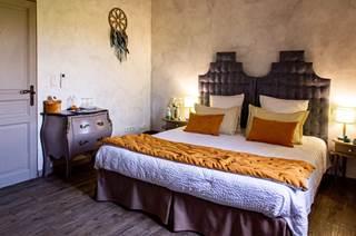 Chambre d'hôtes de 24 m² située au 1er étage avec salle d'eau et wc