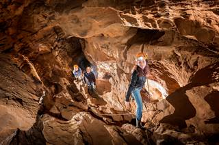 Safari Souterrain à la grotte de Soustelle
