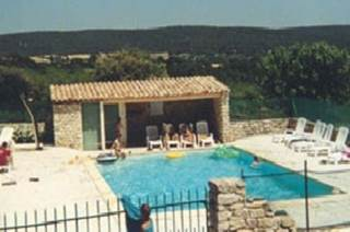 La PRADINE - Maison avec vue sur le Mont Ventoux