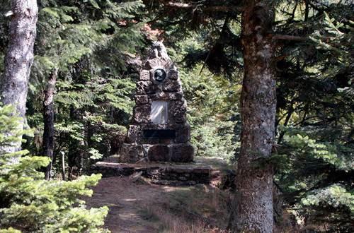 Arboretum de l'Hort de Dieu - Monument Charles Flahaut ©