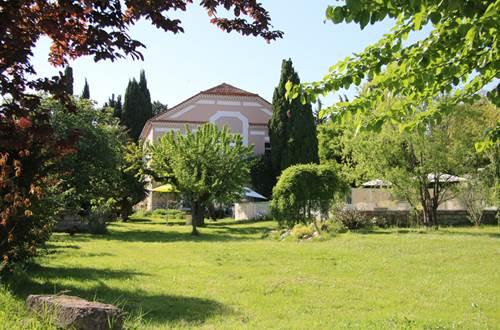 Jardin de la Villa Hanna ©