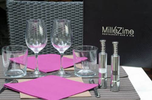 Restaurant Millezime table terrasse © Restaurant Millezime