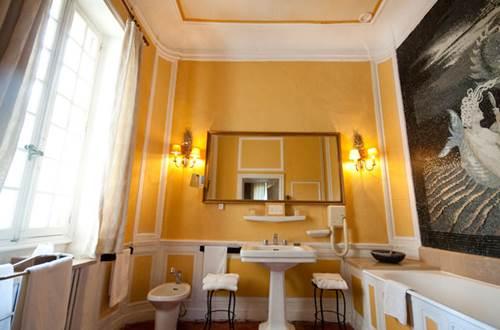 Hôtel Château d'Apaillargues salle de bains © Hôtel Château d'Apaillargues