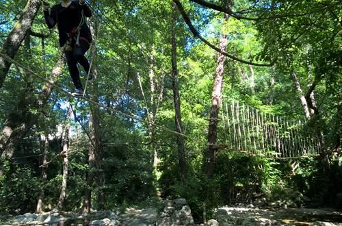 Le Bois Des Plumes - ST JEAN DU GARD - parcours aventure ©
