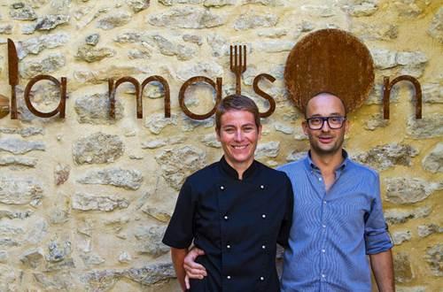 Restaurant La Maison à Gaujac © Sud de France Développement