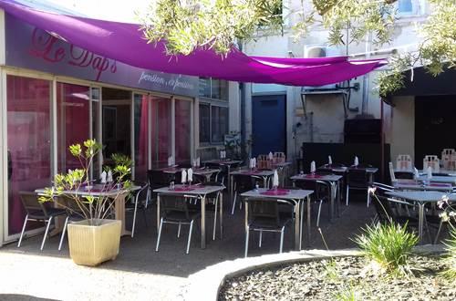 Restaurant le Dap's - Terrasse © Restaurant le Dap's
