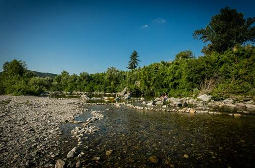 Camping De L'Arche ANDUZE SUD DE France ©