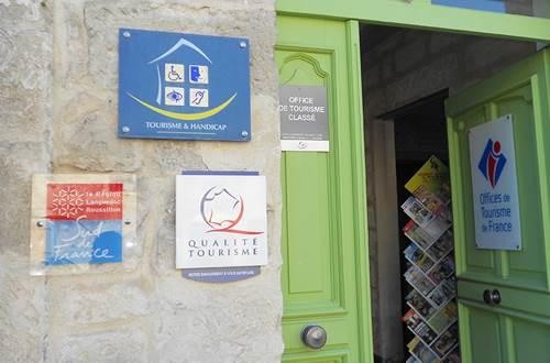 Entrée Office Tourisme St Gilles ©