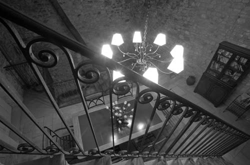 BARTHELEMY Marie - chambre clair de lune escalier © BARTHELEMY Marie