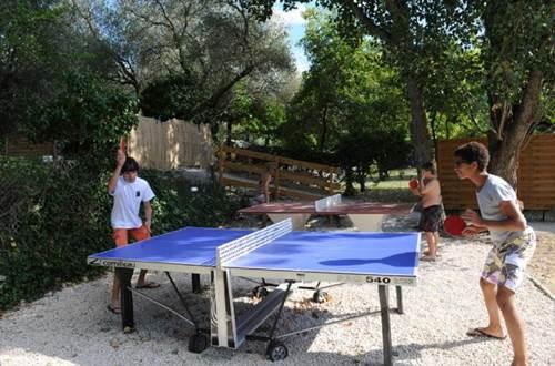 L'OLIVIER à Junas ping-pong ©