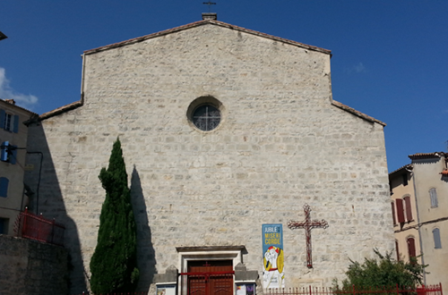 Ville d'Anduze : église  ©