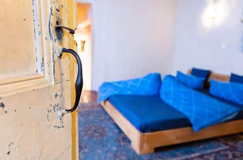 chambre bleue-la vieille maison, Durfort et St Martin-photo aspheries ©