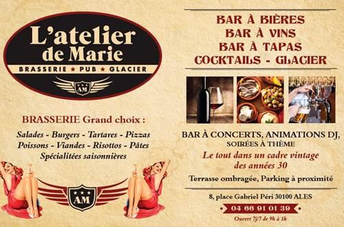 Brasserie L'Atelier De Marie - ALES ©
