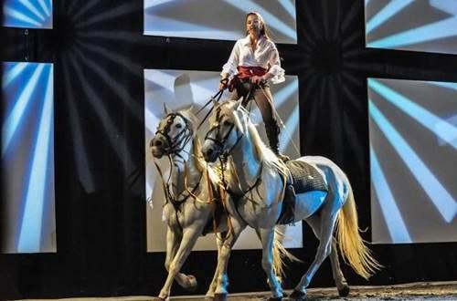 Cabarets Equestres de Camargues Sables et dunes - GRAU DU ROI ©