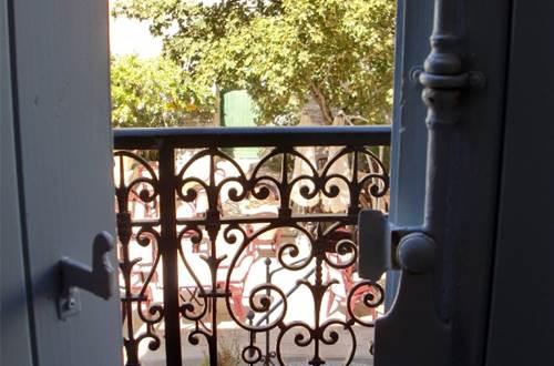 La Maison de Yoshimi à Vézénobres, balcon ©