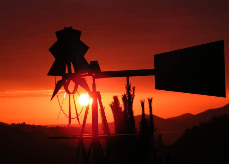 Coucher de soleil au Tour du Monde été australe