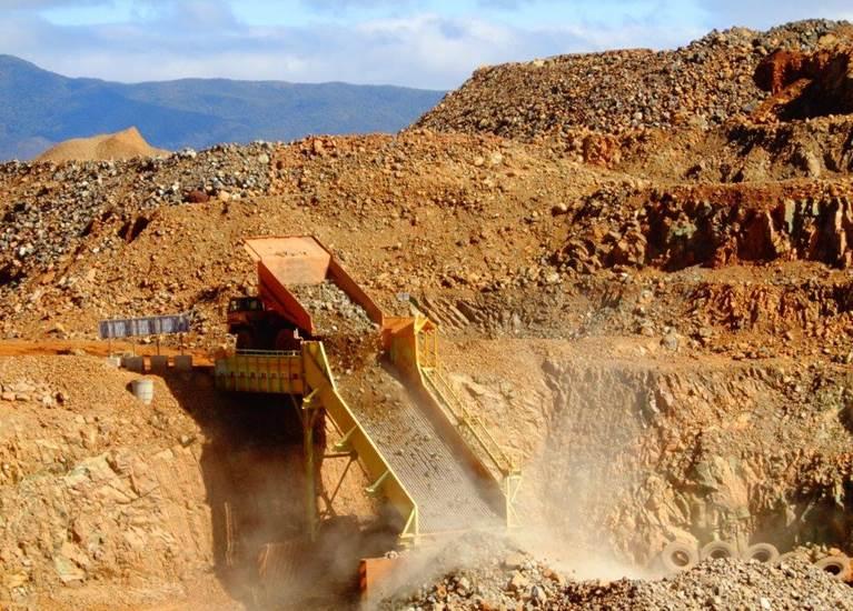 Activité de la mine