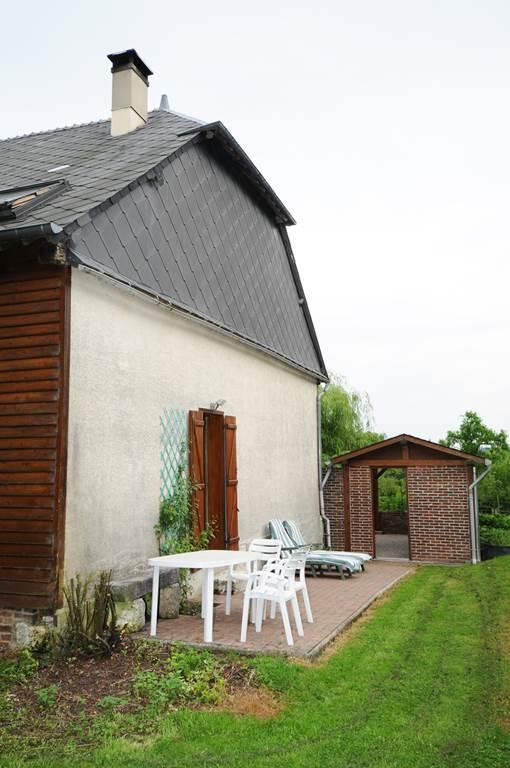 La Blanche Gelée - jardin