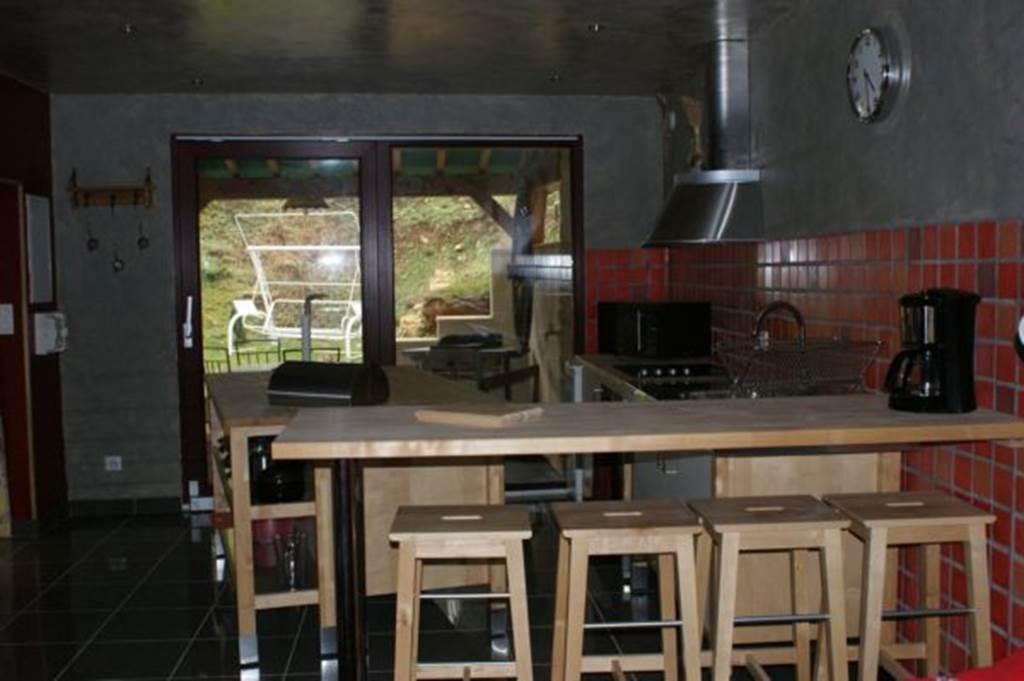 Cuisine - Gîte Les Cabus -MS 144